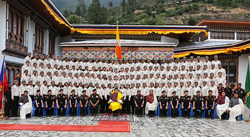 HM Grants Audience to 20th Batch DeSuups-