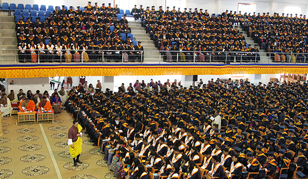 HM's Address at the 11th RUB Convocation