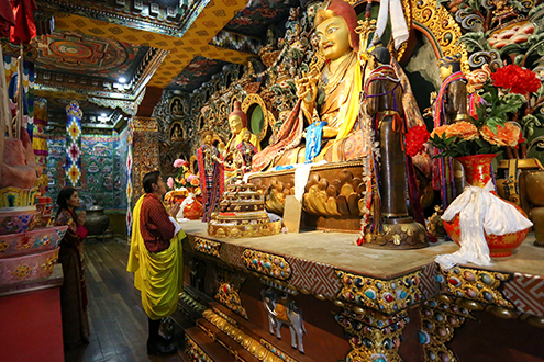 His Majesty graces Rinchen Terzoed Wang--
