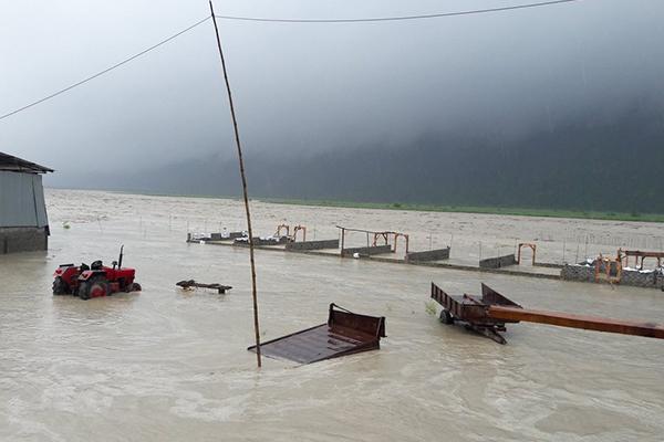Amochhu floods