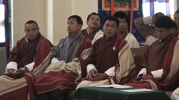 All incumbent gups of Trashi Yangtse contesting