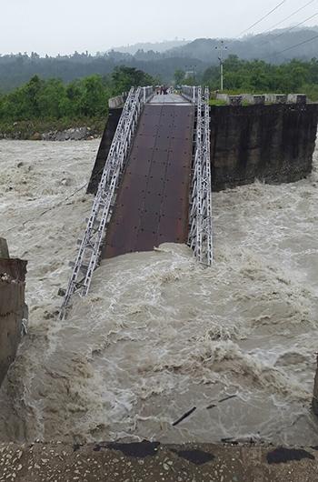 Bridge in Samtse collapses--