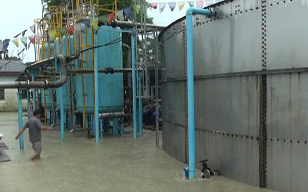 Gelegphu faces water shortage as flood submerges treatment plant