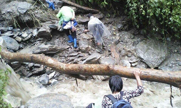 Monsoon batters Bhutan
