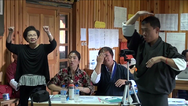 Efforts underway to develop Bhutanese Sign Language