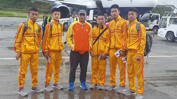 bhutanese-karate-team-leaves-for-south-asian-championship