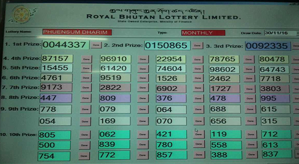 bhutan-lottery-limited-announces-its-first-winner