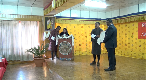dr-rnithiyanandam-recognised-for-providing-scholarships-to-underprivileged-bhutanese