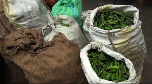 72eb811e6 Last week, local green chillies were sold at Nu 800 for a kilogram, at the  Centenary Farmer's Market.