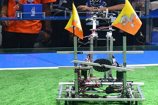 Bhutanese Robot Druk Bot Ranked 17th Out Of 161 Bbs Bbs
