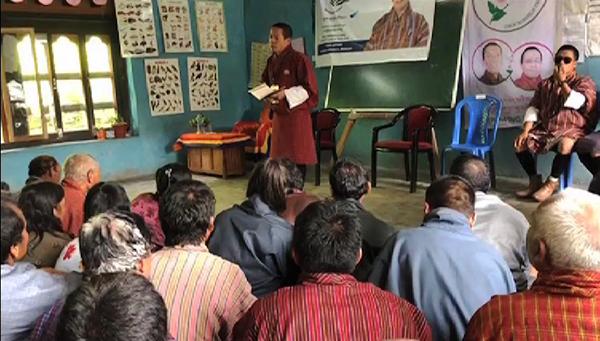 Dnts School Exam Pledge Met With Mixed Reactions In Monggar Bbs Bbs